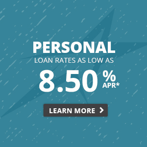 Personal rates as low as 8.50% APR.* Learn more.